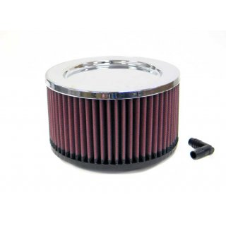K&N Universal Chrome Filter RA-096V