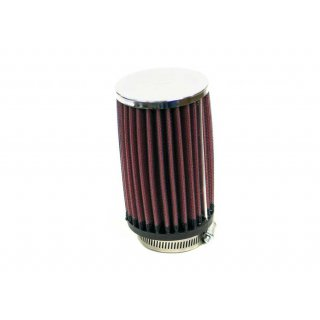 K&N Universal Chrome Filter RC-0412